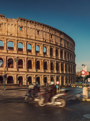 Scooters and Colosseum