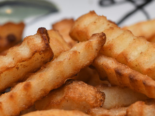 French Fries Up Close