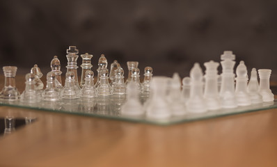 Chessgame of Glasses