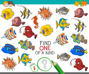 find one of a kind with rabbits animal characters