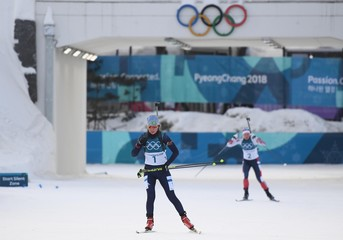 Olympics: Biathlon