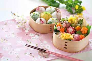 春のお弁当 お花見弁当