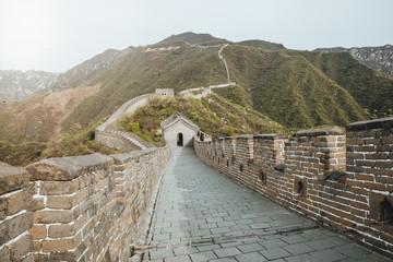 Grand wall of China