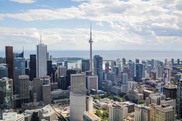 Deurstickers Toronto Aerial Toronto, Canada