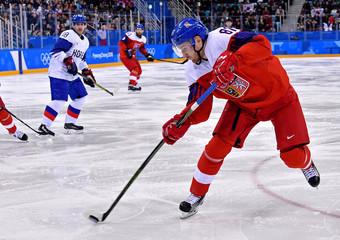 Olympics: Ice Hockey-Men Team Group A - CZE-KOR
