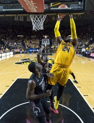 NCAA Basketball: Temple at Wichita State