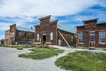 Bodie Ghost Town Wall mural
