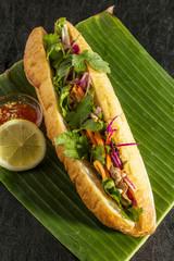 バインミーとベトナム料理 banh mi Vietnamese sandwich