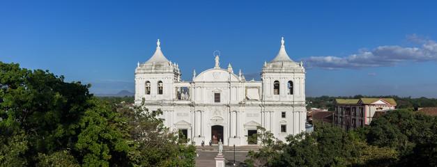 Panorama de la Cathédrale de León, Nicaragua
