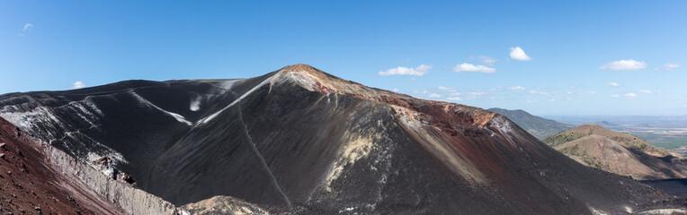 Panorama du volcan Cerro Negro, Nicaragua