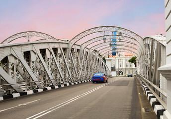 Сингапур,  Андерсон мост. Театр Виктория.