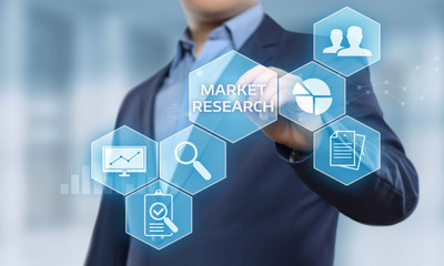Market Research Marketing Strategy Business Technology Internet concept
