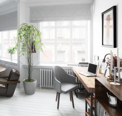 Wohnzimmer Mit Einrichtung (Detail)