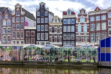 アムステルダムの花市場