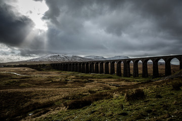 Ribblehead Viaduct winter