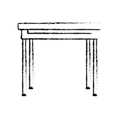 Isolated table design