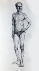 illustration drawing, sketch, portrait