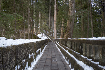 きつい石の階段 日光東照宮