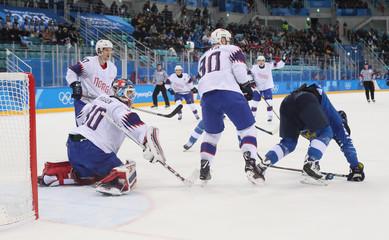 Olympics: Ice Hockey-Men Team Group C - FIN-NOR