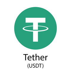 Tether cryptocurrency symbol