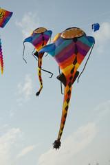 Cha-am International, Kite Festival in Prachuap Khiri Khan Province of Thailand.