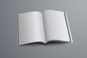 layout of the A5 or A4 catalog is open in the middle of the page
