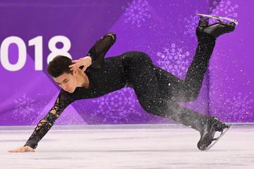 Olympics: Figure Skating-Mens Short Program