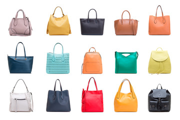 Collection of women's bags