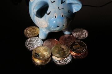 Gold oder Bitcoin, was kommt ins Sparschwein? Mut zum Risiko oder nicht?