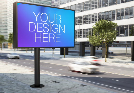 City Billboard Mockup 1