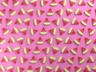 Colorful watermelon food background