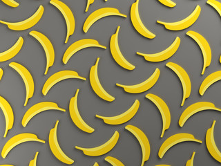 Colorful banana food background