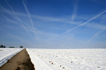 chemtrails in winter