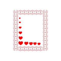 Frame rectangle card