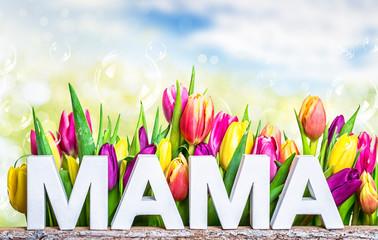 Mama Muttertag Karte