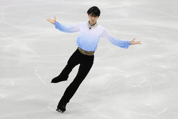 Olympics: Figure Skating-Mens Short Program