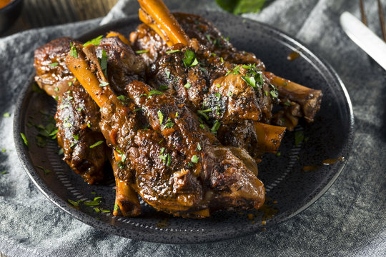 Homemade Braised Lamb Shanks