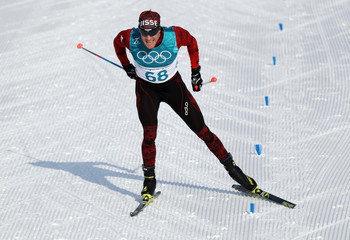 Olympics: Cross Country Skiing-Mens 15km Freestyle
