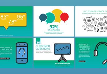 Customer Service Social Media Posts Set 11