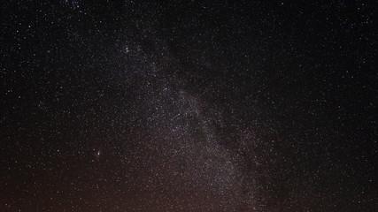 The milky way galaxy Andromedid