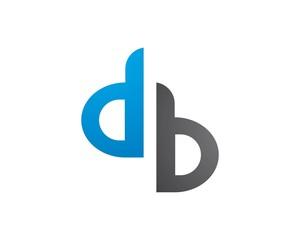 D Letter Logo Business