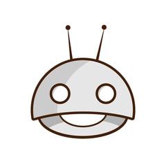 Robot Cute Emoticon Emojis