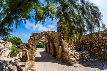 The Port of Caesarea