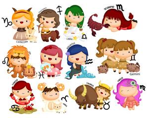 Horoscope Vector Set