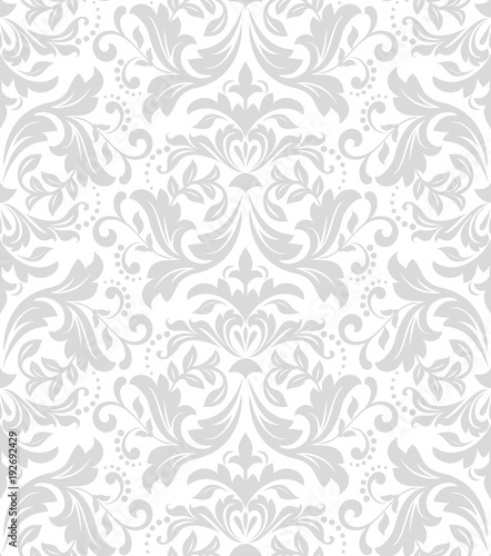 quotfloral pattern wallpaper baroque damask seamless