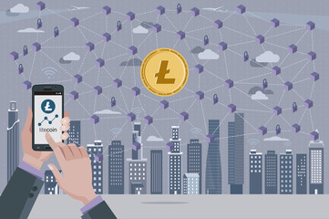 Litecoin Cryptocurrency and Blockchain Network