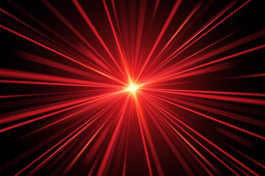 Red light rays