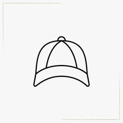 cap line icon