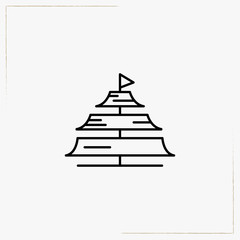 sails line icon