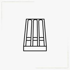 cigars line icon